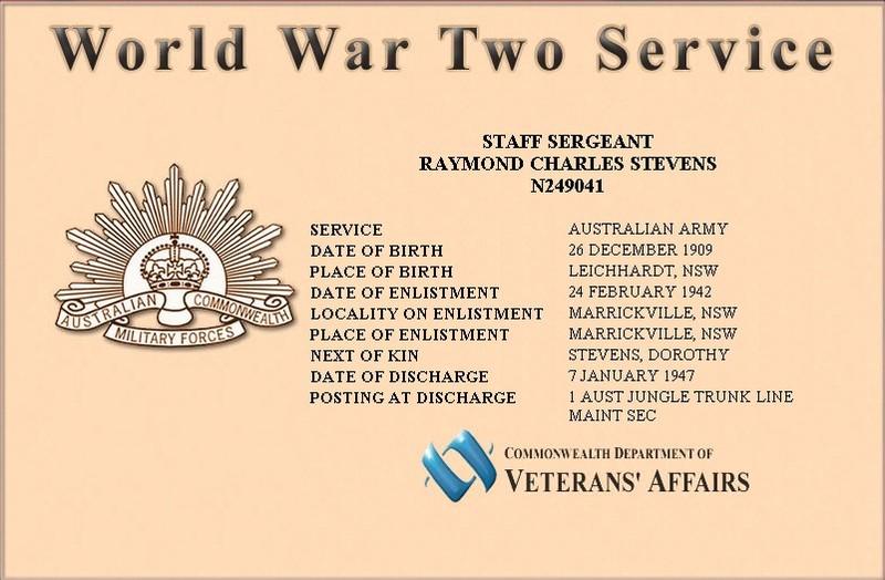 Stevens, Raymond Charles b 26 12 1909 WWII certificate.jpg