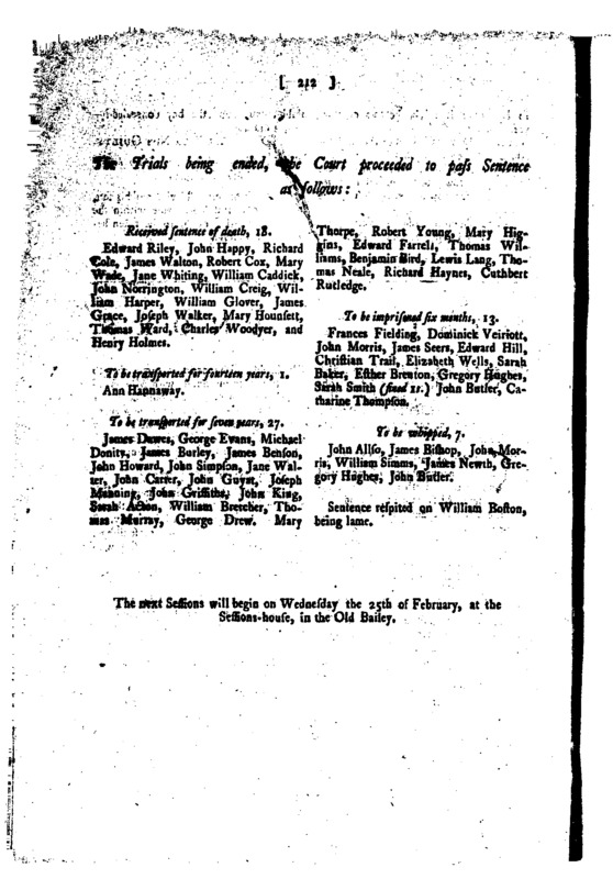Proceedings of the Old Bailey, 14th January 1789 178901140120.gif