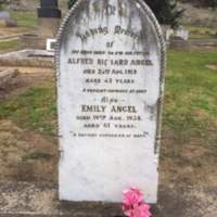 Alfred Richard Angel DOD:  22 Aug, 1919&lt;br /&gt;<br />