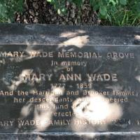 Mary Ann Wade Memorial Grove&lt;br /&gt;<br />