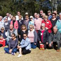 Group Photo of Family Reunion at Port Macquarie on 19th August, 2018