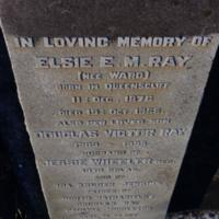 Elsie. E.M. Ray (nee Ward)<br /><br />
