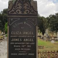 Eliza Angel DOD: 28 Mar, 1912