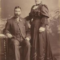 Daniel Ray [born 17 August 1856] and wife Sarah Ann (nee Reid) [born 31 July 1856]