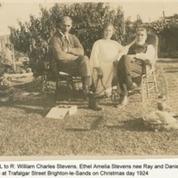 Ray, Daniel b 17 8 1856 with William & Ethel Stevens.jpg