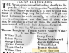 Teague Harrigan, notice to depart NSW 1817